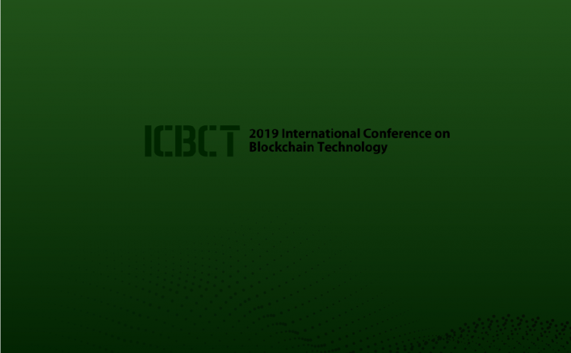 Pankaj Mendki will be presenting a paper at ICBT, 2019