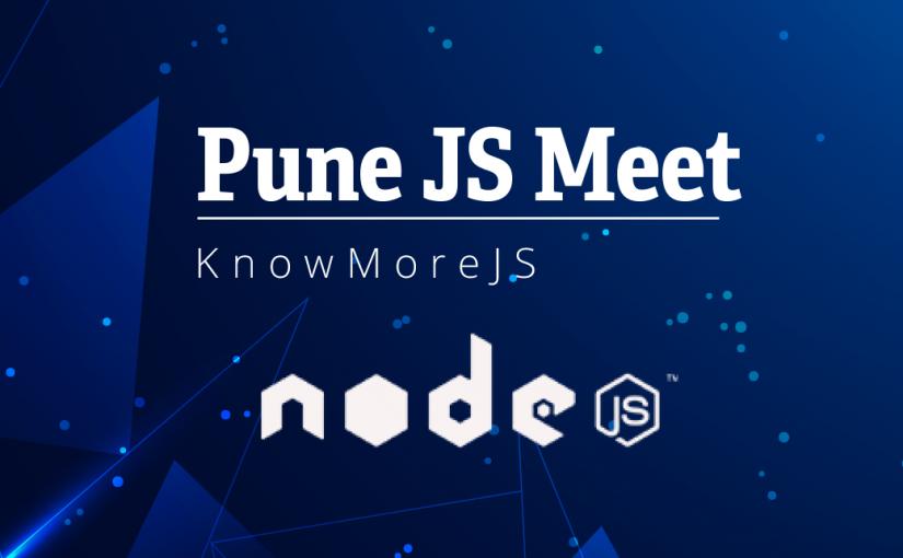 Pune JS Meet: NodeJS Chapter 3, Design Patterns