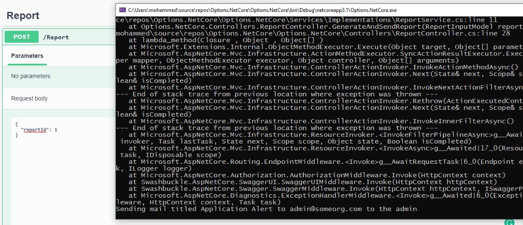 Options pattern in .NET Core